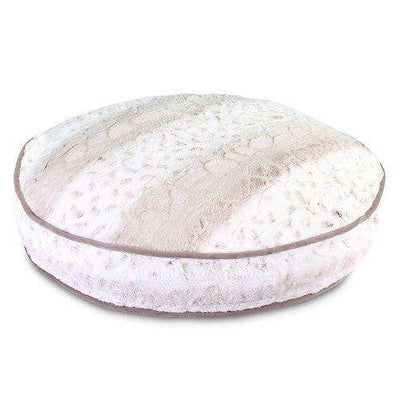 Luxe Pup Lynx Round Dog Bed by PupIQ