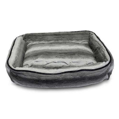 Luxe Pup Arctic Fur Lounger Dog Bed by PupIQ