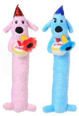 "MultiPet - 13"" Loofa Birthday Dog"