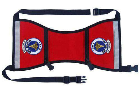 "Ready-to-Wear, Service Dog Vest/ID Cape with Pockets (""In Training-Service Dog"") - SitStay - 1"