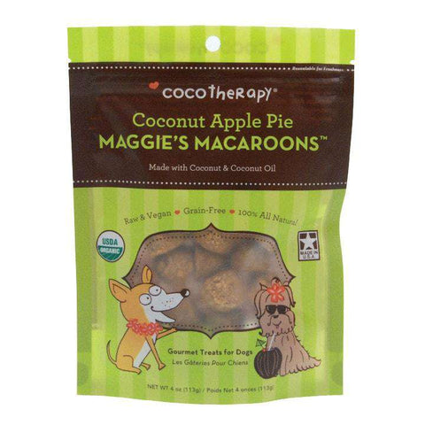 CocoTherapy Maggie's Macaroons – Coconut Apple Pie, 4 oz. - SitStay