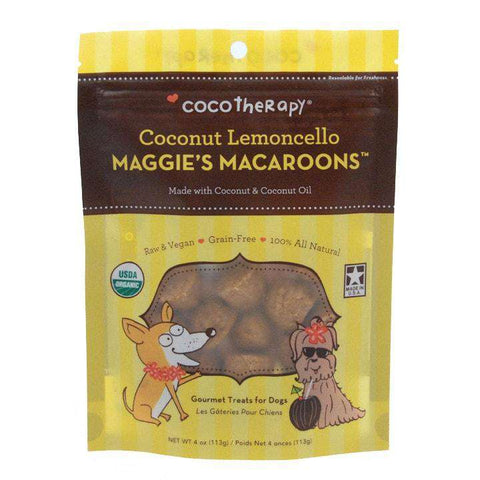 CocoTherapy Maggie's Macaroons – Coconut Lemoncello, 4 oz.