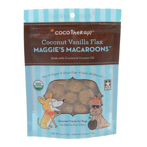 CocoTherapy Maggie's Macaroons – Coconut Vanilla Flax, 4 oz. - SitStay