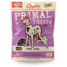 Primal Pet Foods - Jerky Pork Nibs Treats - SitStay