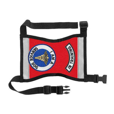"Ready-to-Wear, Service Dog Vest/ID Cape (""In Training-Service Dog"") - SitStay - 5"