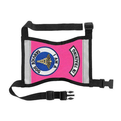 "Ready-to-Wear, Service Dog Vest/ID Cape (""In Training-Service Dog"") - SitStay - 17"