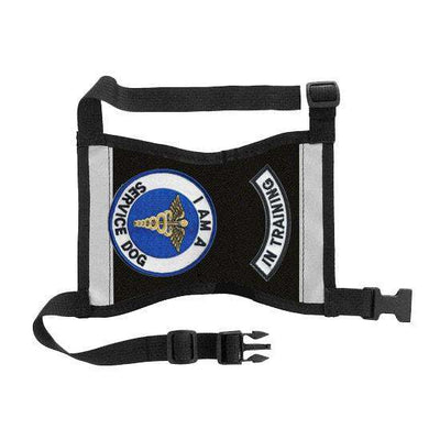"Ready-to-Wear, Service Dog Vest/ID Cape (""In Training-Service Dog"") - SitStay - 19"
