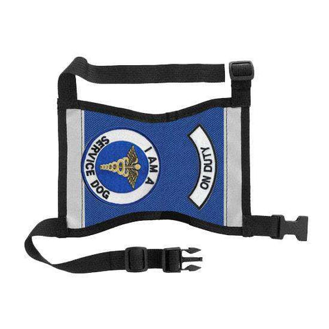 "Ready-to-Wear, Service Dog Vest/ID Cape (""On Duty-Service Dog"") - SitStay - 1"