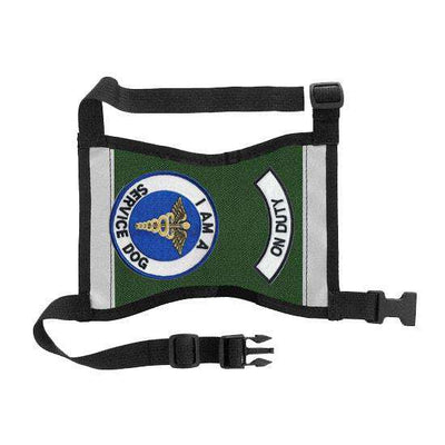 "Ready-to-Wear, Service Dog Vest/ID Cape (""On Duty-Service Dog"") - SitStay - 3"