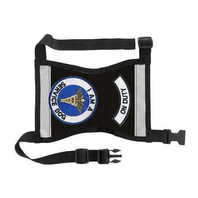 "Ready-to-Wear, Service Dog Vest/ID Cape (""On Duty-Service Dog"") - SitStay - 10"