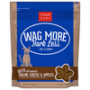 Cloud Star - Wag More Bark Less Soft & Chewy Dog Treats - Bacon, Cheese & Apples - SitStay