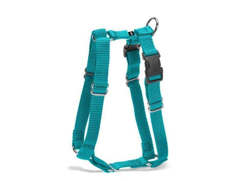 Harness: Sure-Fit Heavy-Duty Nylon, Five-Way Adjustable dog harness by Premier - All Sizes, All Colors (price varies by size) - SitStay - 6