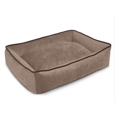 smart pup lounger bed mocha