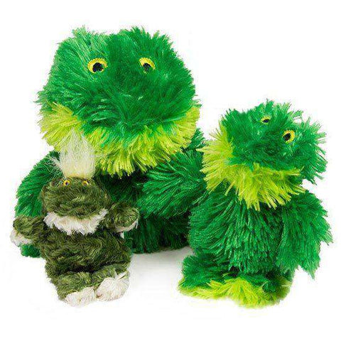 Kong Fuzzy Frog Squeaker Toy - SitStay
