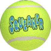 Kong Air Squeaker Tennis Ball, X-Large - SitStay