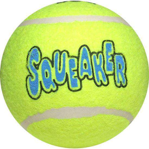 Kong Squeaker Tennis Ball, Large - SitStay