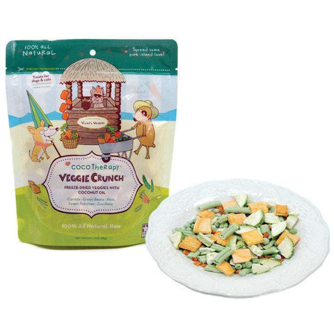 CocoTherapy Veggie Crunch, 1.5 oz