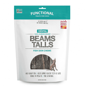 The Honest Kitchen Beams Treats Single Ingredient Icelandic Catfish Chews - SitStay