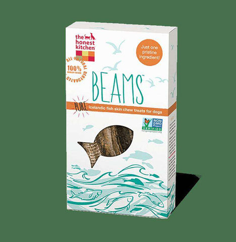 The Honest Kitchen Beams Treats, 4 oz and 7 oz, Single Ingredient Icelandic Catfish Chews, (Price Varries by Size) ) - SitStay