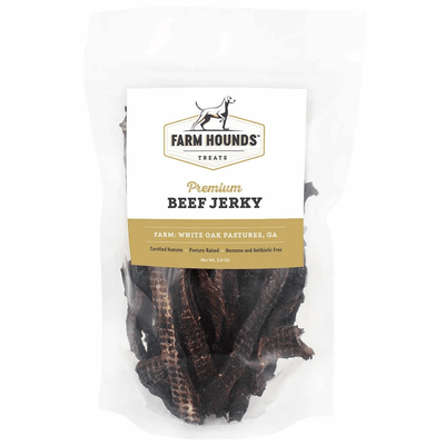 Farm Hounds Beef Jerky Front