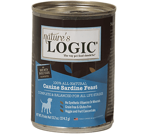 Nature's Logic Canned Food, Case - SitStay - 6