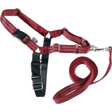 Easy Walk Reflective Harness in Red