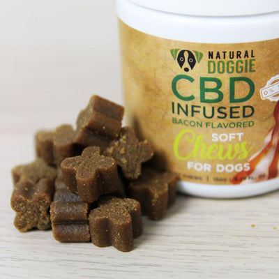 Bacon flavor soft chews cbd infused