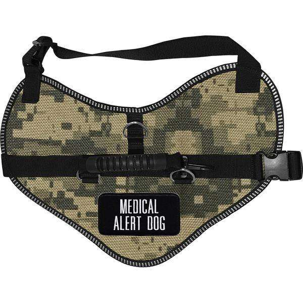 """Medical Alert Dog"" Classic Dog Harness Vest - SitStay"