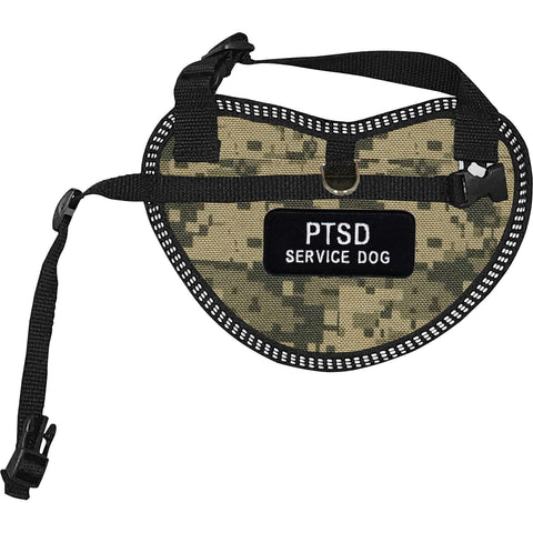"""PTSD Service Dog"" Dog Harness Vest for small dogs"