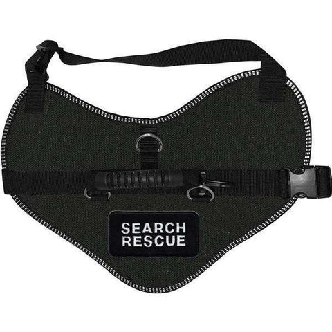 Wiredog - Classic Harness Vest with Search Rescue Patches