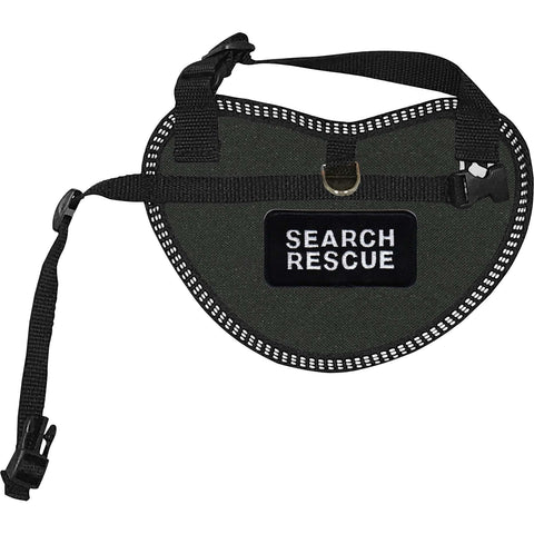 """Search Rescue"" Dog Harness Vest for small dogs"