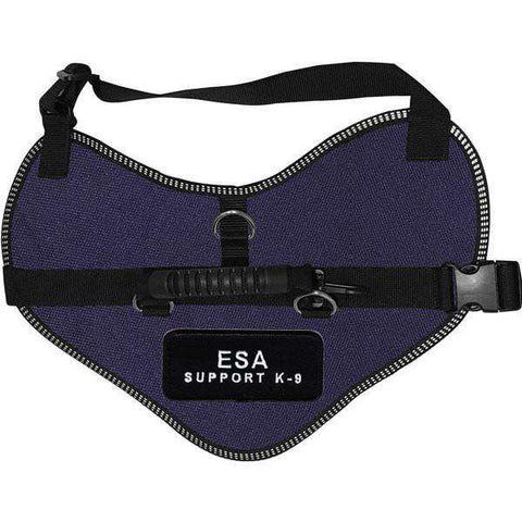 Wiredog - Classic Harness Vest with Emotional Support Animal Support K-9 Patch