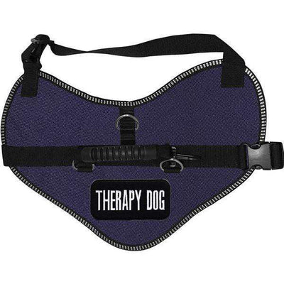 """Therapy Dog"" Classic Dog Harness Vest - SitStay"