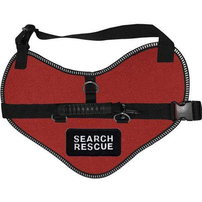 """Search Rescue"" Classic Dog Harness Vest - SitStay"