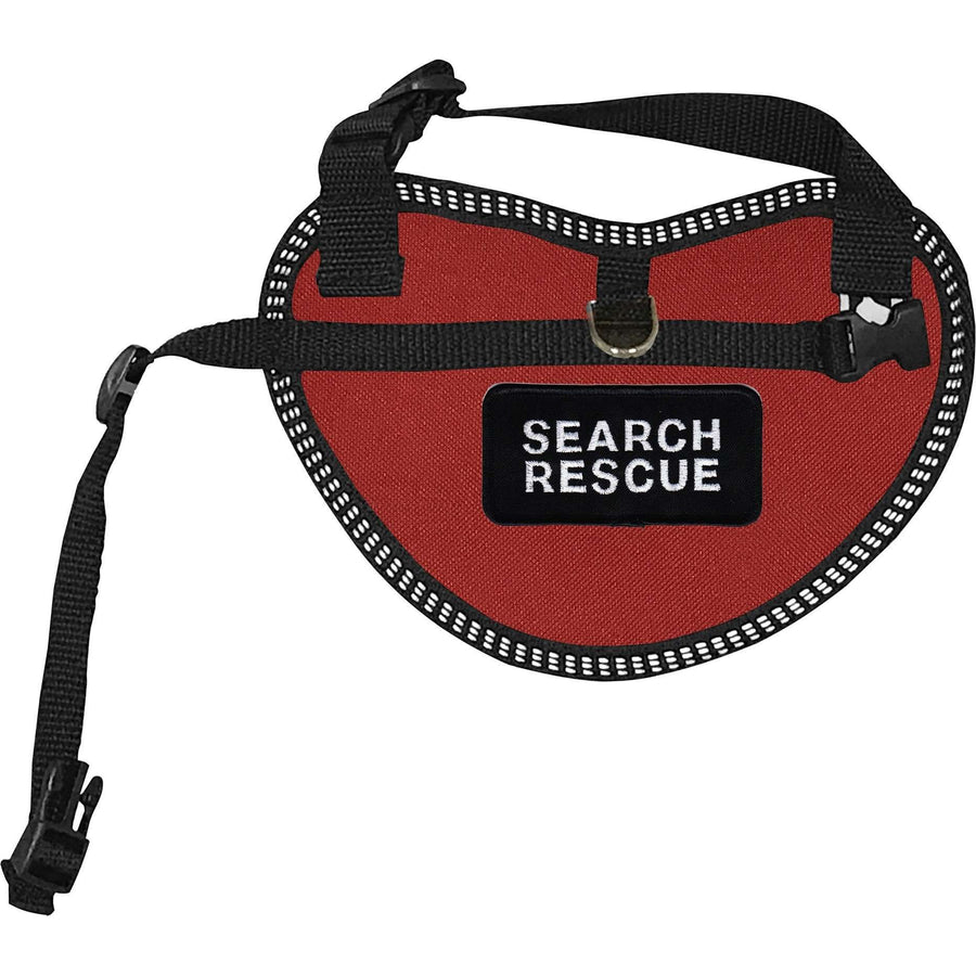 """Search Rescue"" Dog Harness Vest for small dogs - SitStay"