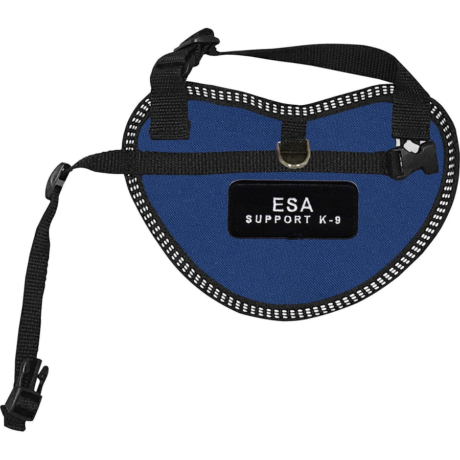 """Emotional Support Animal Support K-9"" Dog Harness Vest for small dogs"