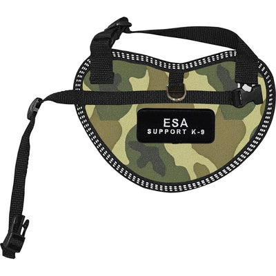 """Emotional Support Animal Support K-9"" Dog Harness Vest for small dogs - SitStay"