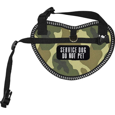 """Service Dog Do Not Pet"" Dog Harness Vest for small dogs - SitStay"