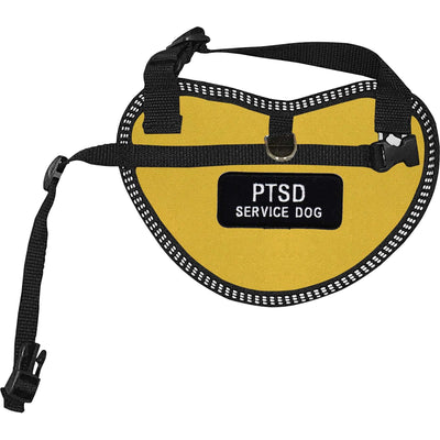 """PTSD Service Dog"" Dog Harness Vest for small dogs - SitStay"