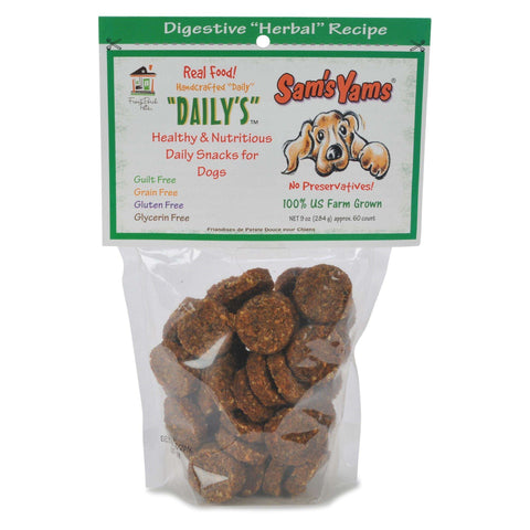 Front Porch Pets - Sam's Yams Daily's, Digestive Herbal Recipe
