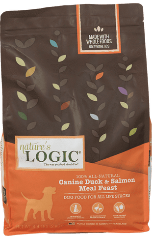 Nature's Logic Dry Kibble - Duck & Salmon - SitStay - 1