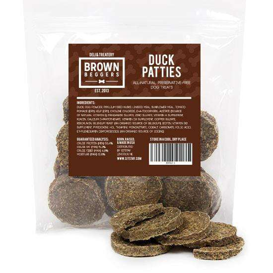 Brown Beggers Duck Patties, 8 oz - SitStay