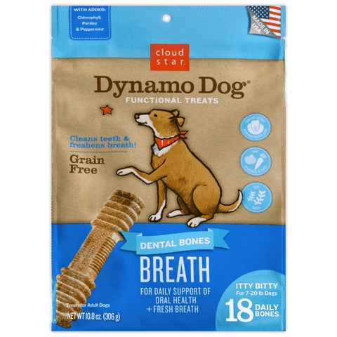 Cloud Star - Dynamo Dog Functional Dental Bones Breath - SitStay