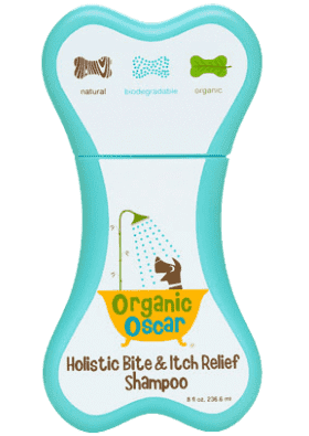 Organic Oscar's Holistic Bite and Itch Relief Shampoo