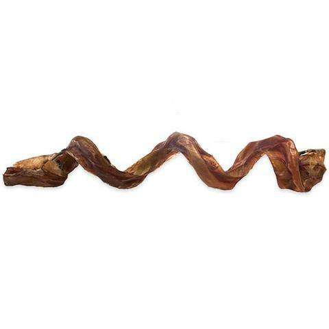 Beef Steer Pizzle | Jones Natural Chews Curly Q Bully Stick - SitStay