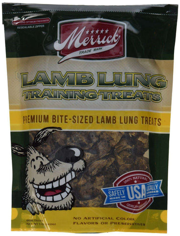 Merrick Lamb Training Dog Treats, 5 oz bag - SitStay