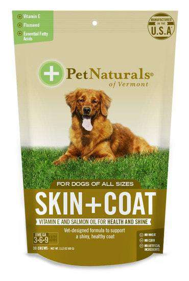 Pet Naturals of Vermont Skin + Coat for Dogs - SitStay