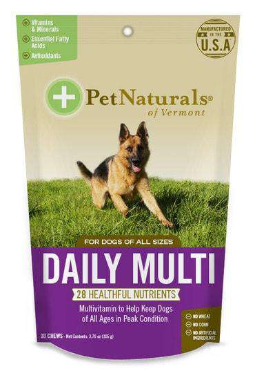 Pet Naturals Daily Multi for Dogs - SitStay