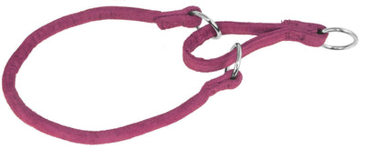 DOGLine Comfort Microfiber Round Martingale Collar - SitStay - 8
