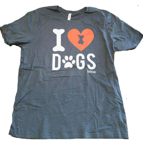 I Love Dogs SitStay Shirt
